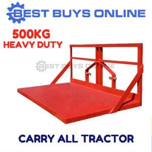 CARRY ALL TRACTOR 2.1m 3 POINT LINKAGE 500KG CAPACITY HEAVY DUTY
