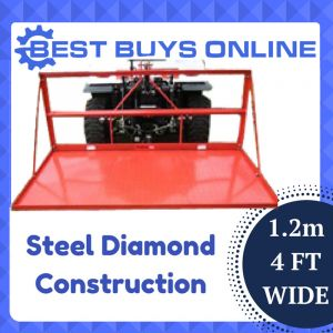 "CARRY ALLS TRACTOR 4FT 1.2M CarryAll STEEL PLATED 3 POINT LINKAGE ""Best Buys on sale"""