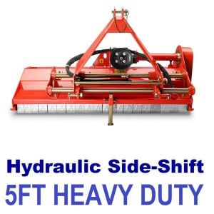 "FLAIL MOWER MULCHER 5FT HEAVY DUTY HYDRAULIC OFFSET SIDE SHIFT Best Buys Online ""Best Buys on sale"""