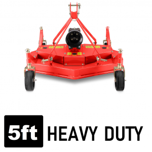 Finish Mower 5 FT Heavy Duty 1500mm width suit Tractor 3 point linkage
