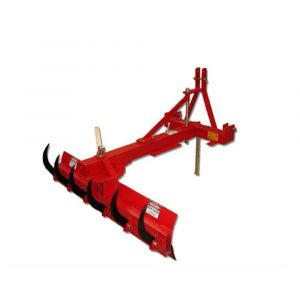 Rear Grader Blade 4ft 120cm w/ Rippers Heavy Duty, Offsetable for Tractor 3 PL