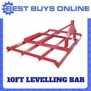LEVELLING BAR 3M 10FT Leveling SMUDGE BAR FOR TRACTOR 3 POINT LINKAGE