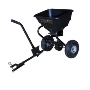 Fertiliser Spreader Tow Behind 30 KG 26 L Broadcast Seed Spreader bonus Rain cover