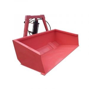 TRACTOR BUCKET 1260 MM WIDE HYDRAULIC REAR MOUNTED 3 POINT LINKAGE