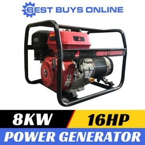 10 kVA Petrol Generator 16 HP Engine Power for Industrial, Home backup