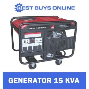 Petrol Generator 24 HP Electric Start Engine Power 12kW Max 10kW Rated  V Twin