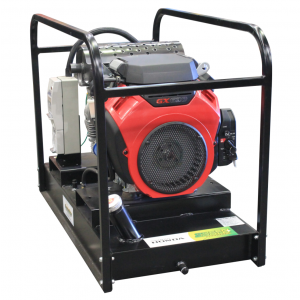 Petrol Generator 11 kVA with Honda GX630 Powered Electric Start & Base fuel tank GH10000E-FBT