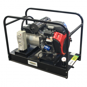 Portable Generator 14.5 kVA with Honda GX630 Petrol Powered Electric Start & 50L Base Mounted Tank