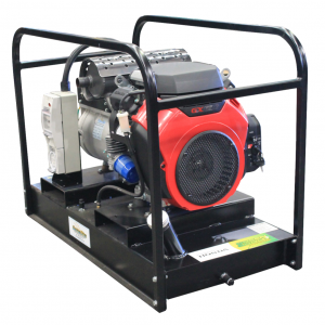 12.5 kVA 3 Phase Petrol Generator 10 kW Powered by Honda GX630 Electric Start & Based Fuel Tank GH12000E-FBT/3