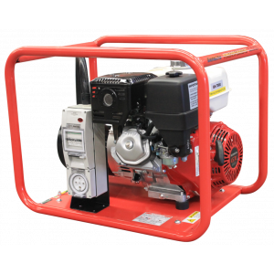3 Phase Portable Generator 8 kVA with Honda GX390 Petrol Powered 415V GH7000E/3