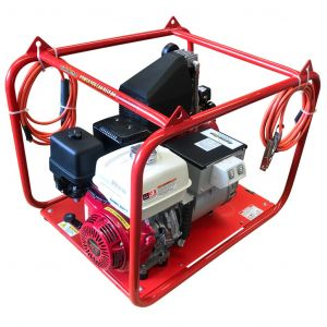 Welder Generator 7 kVA & 200 Amp AC Welding with Honda GX390 Petrol Portable Power GHW200/7