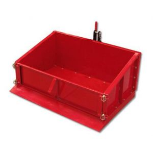 Carry All Box Cargo Box Carry Soil Dirt Tractor Tipping 500kg Load
