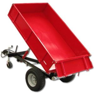 TIPPING TRAILER HYDRAULIC TIPPER BOX High Quality-1500kg Dump Cart Tractor 3PL