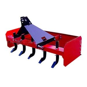 REAR BOX BLADE HEAVY DUTY Grader Blade LEVELLING SCRAPER 5FT FOR TRACTOR 3 POINT LINKAGE