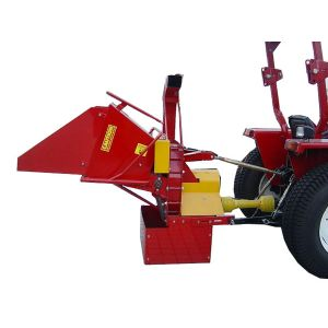 "PTO Wood Chipper 8 "" inch Auto Hydraulic Feed suit Tractor 3 Point Linkage"