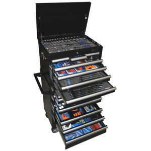 Sp Tools Tool Box 15 Drawer Roller Cabinet 609 Piece Tool Kit SP50165