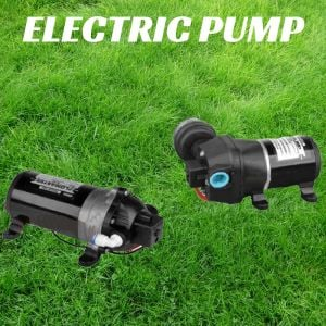 12V Diaphgram WATER PUMP ELECTRIC High Pressure 35PSI Suit Caravan Boat QWELP35