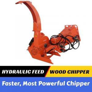 PTO Wood Chipper Hydraulic Feed Tree Mulcher suit Tractor 3 Point Linkage | Best Buys Online