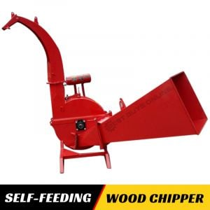 NEW WOOD CHIPPER SELF FEEDING Tree Mulcher 3 Point Linkage PTO Driven 150mm Cut