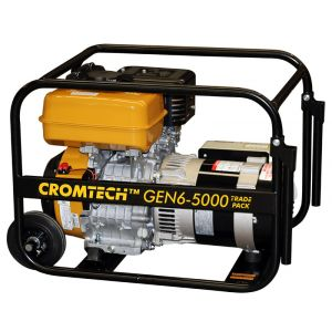 NEW PETROL POWER GENERATOR 6kVA 5000W Max SUBARU Engine 9 HP Cromtech