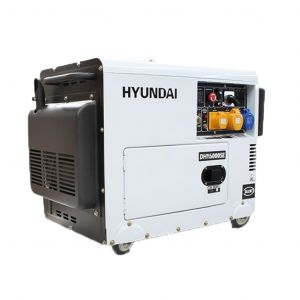 Diesel Generator 6.5kVA Quiet Silent Power 10HP Hyundai Engine Electric Start