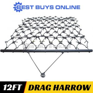 "DRAG HARROW SUPER HEAVY DUTY - 3.6M WIDE 12 FT- FARMING, SOIL PREP ""Best Buys on sale"""