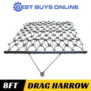 "DRAG HARROW SUPER HEAVY DUTY 2.5M WIDE - FARMING SOIL PREP 3 PL ""Best Buys on sale"""