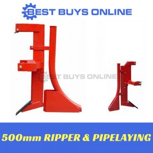 RIPPER AND PIPE LAYING ATTACHMENT 500MM TRACTOR 3 POINT LINKAGE