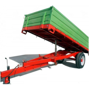 New HYDRAULIC TIPPING TRAILER Tipper Box 1500kg Dumping Cart Trade or Farm