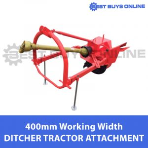 DITCHER 400 MM WORKING WIDTH & 300 MM DITCHING DEPTH FIAD300 Tractor Attachment 3PL