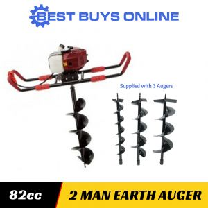 Post Hole Digger Earth Auger 82 cc Fence Post