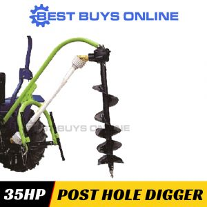MILLERS FALLS POST HOLE DIGGER SUIT TRACTOR 25-40HP 3 Point Linkage CAT1 PHDGL30