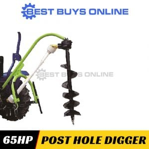 MILLERS FALLS POST HOLE DIGGER SUIT TRACTOR 36-65HP 3 Point Linkage PHDGL50