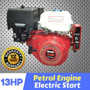 Millers Falls 13 HP Petrol Engine Electric Start OHV motor horizontal shaft