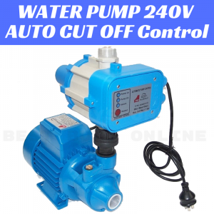 ELECTRIC WATER PUMP AUTO PRESSURE CUT OFF Controlled Valve GARDEN IRRIGATION