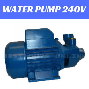 WATER PUMP 240V 0.75HP 45L/min Max Flow Farm Gardening Irrigation QWE75