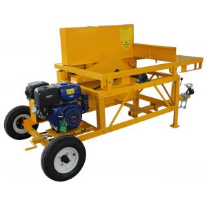 Saw Bench Portable tow behind 36 inch 914mm blade, 13 hp petrol engine electric start