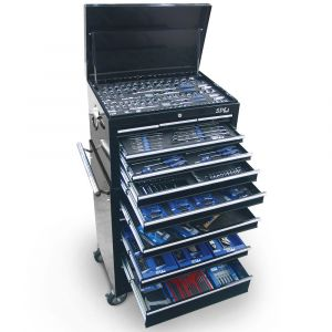 SP TOOLS 307 pieces Tool Set 15 Drawers Roller Cabinet Chest Box SP50105