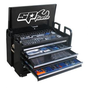 SP TOOLS 406pc METRIC/SAE FIELD SERVICE TOOL KIT 7 DRAWER TOOL CABINET SP50115