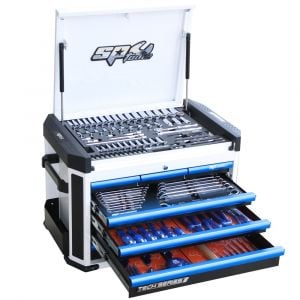 Tool box SP52505 SP Tools 7 Drawer Chest Box 230pc Sockets Spanners Tool Kit