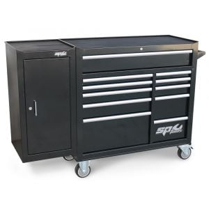 SP Tools Tool box SP40160 Roller Cabinet 11 Drawer & Side Cabinet