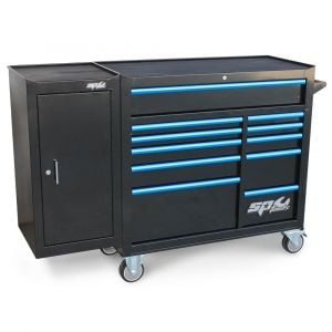 SP Tools Tool Box Roller Cabinet 11 Drawer with side cabinet SP40161