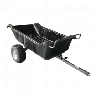 Poly Dump Cart 680 kg Heavy Duty 1500 lbs Large Tray tow behind ATV Trailer