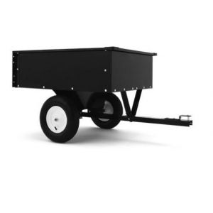 Steel Dump Cart Garden Tipper Trailer Quality Wheelbarrow