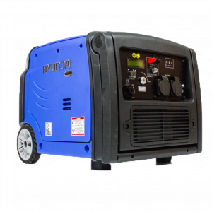 Inverter Generator 4kVA / 3.2kW Max Hyundai Petrol Electric Start Engine Pure Sinewave Quiet Power
