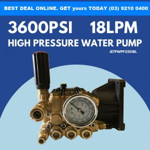 PISTON PUMP 3600 PSI MAX for Jetstream High Pressure Washer Pump