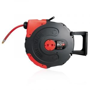 Air Hose Reel 20M Jamec Pem Retractable Auto Rewind 300 PSI Pro Series 58.1034