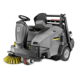 Industrial Floor Sweeper Karcher KM 105/110 R LPG + KKSB Ride On Vacuump Sweeper