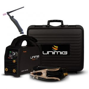 Unimig Razor Tig Stick Welder Inverter Arc DC 180 AMP with Tig Torch KUMJRRW180CT