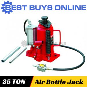 New Bottle Jack 35 Ton Air Manual Hydraulic Truck Car Lift